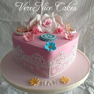 Pink Vintage Cake #Pink #Vintage #Cake