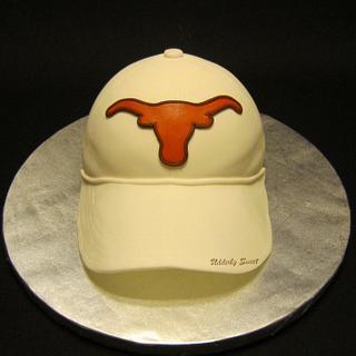 Texas Longhorn Hat Cake