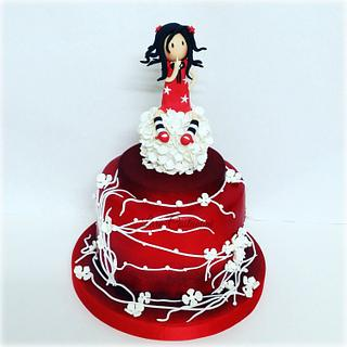 GORJUSS DOLL CAKE - Cake by Lara Costantini