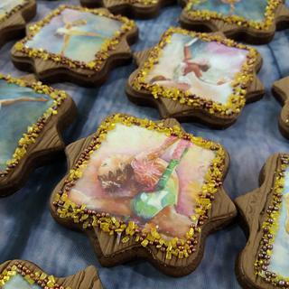 Gymnastics cookie - Cake by Maria Tsilinikou