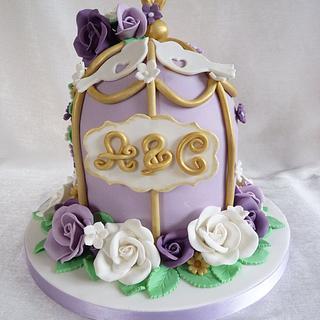 Birdcage cake - Cake by Bonnie151