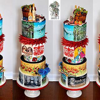 Hungary cake for Cake Masters Magazine