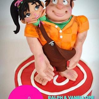 Wreck it ralph - Cake by Yolkin Navarro