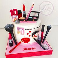 TARTA MAKE UP MARIA
