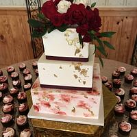 Buttercream Watercolor Wedding