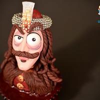Cupcake « Vlad Țepeș »