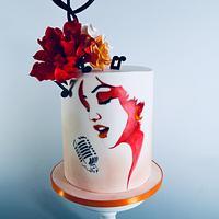 Music themend cake