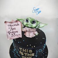 Baby Yoda by Tanya Shengarova