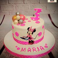 """Minnie Mouse Cake"""