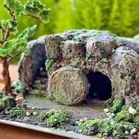 Bible Cakes Collab - The tomb of Jesus  by Maria's