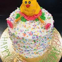 Birthday ballerina chicken