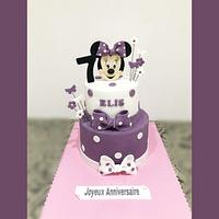 Minnie mause cake