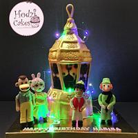 Fanoos Cake - Ramadan Mubarak