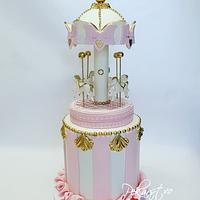 Carousel Cake!🎠