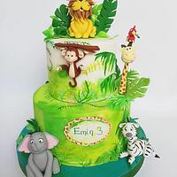 A special jungle cake ❤️