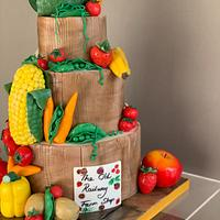 Fruit and veg cake