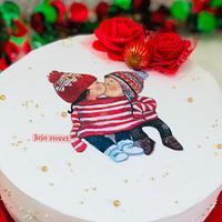 Love Christmas cake