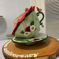 Anniversary cake by alek0