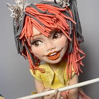 My sweet doll  by Pia's Cake
