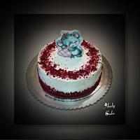 Happy Valentine's day cake