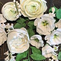 Sugar flowers  by Ilona
