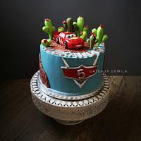 Cake flash McQueen by Gateaux DéMila