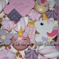 Unicorn cream tarte by Daria Albanese