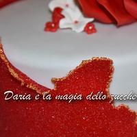 Sugar sheet cake by Daria Albanese