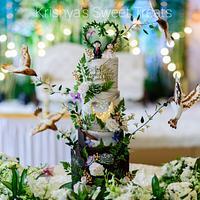 Enchanted love - Cake by Krishya's Sweet Treats