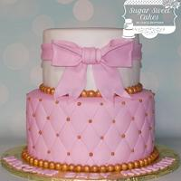 Gold & Pink Baby Shower