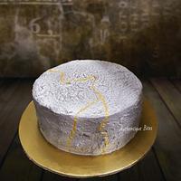 Stone Texture on cream