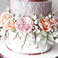 Wedding cake by Georgia´s Cakes