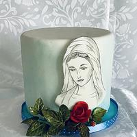 Collaboration Bible cakes by Anka