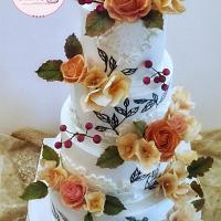 Wedding Cake✨🍃🍁