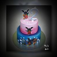 Bing bunny birthday cake