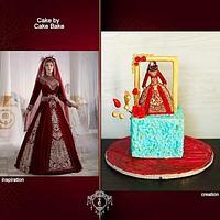 Bridal Dress with Hijab