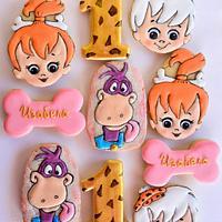 The Flintstones cookies