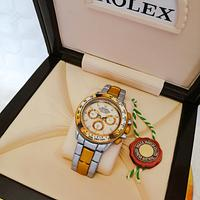 Rolex watch - tiramisu by TartaSan - Damian Benjamin Button