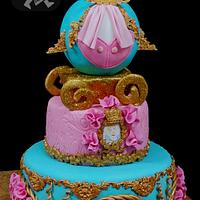 Princess cake Chariot