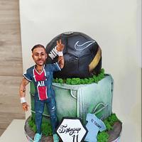 Football cake - Cake by Tanya Shengarova