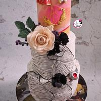 Wedding Cake For A Blind Couple