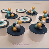 Baptism candy bar - Cake by Konstantina - K & D's Sweet Creations