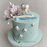 Cake for dentist