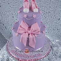 Babyshower pink purple