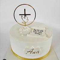 Confirmation cake  by Tortebymirjana