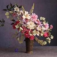 My bouquet in Cake International Spring 2021