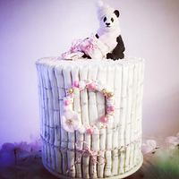 Pastel Panda Christmas