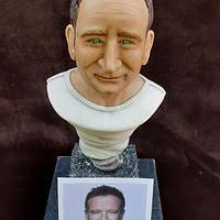 Robin Williams Bust