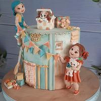 Birthday cake by Couture cakes by Olga