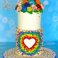 Buttercream NHS cake